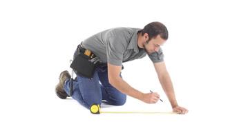 Как правильно измерить помещение для укладки ковролина